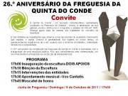 Convite – 26.º Aniversário