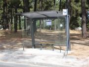 Novos abrigos nas paragens dos transportes colectivos