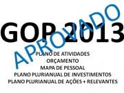 GOP 2012: Aprovado!