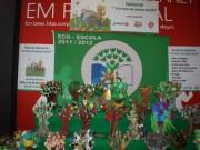 Crianças da freguesia premiadas por obras com materiais reciclados