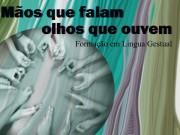 Formação em linguagem gestual