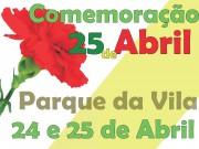 Programa do 25 de Abril na Quinta do Conde