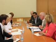 Junta reuniu com PS na Assembleia da República