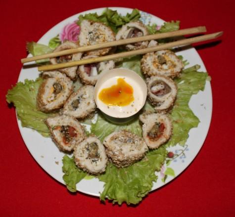 04 Sushi de Caracol