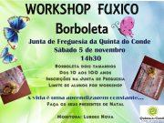 Worhshop Fuxico Borboleta