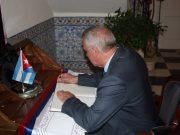 Presidente da Junta na Embaixada de Cuba