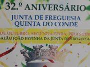 32.º Aniversário da Freguesia da Quinta do Conde