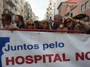 Utentes da Saúde de Seixal e Sesimbra manifestaram-se frente à residência do 1º Ministro