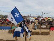 Tempo dificultou início da Festa Medieval mas o resultado foi positivo