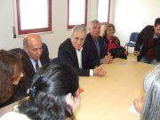 Secretário-Geral do PCP visitou Quinta do Conde e reuniu com direcção do Centro de Saúde e utentes