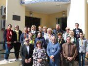 Professores de vários países na Quinta do Conde