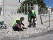 Reparação de calçadas