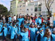 Mais de duas mil crianças e jovens trouxeram para a rua a sua imaginação