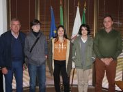"""Três alunos da Escola Básica do Castelo foram """"eleitos por um dia"""" na Quinta do Conde"""