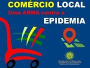 Comércio local uma arma contra a epidemia