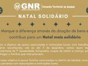Natal solidário promovido pela GNR