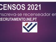 Recenseadores para os Censos 2021